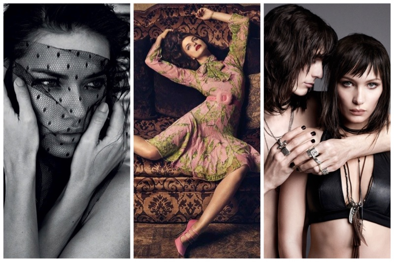 Week in Review   Irina Shayk for Blumarine, Adriana Lima's New Cover, Bella Hadid for NARS + More