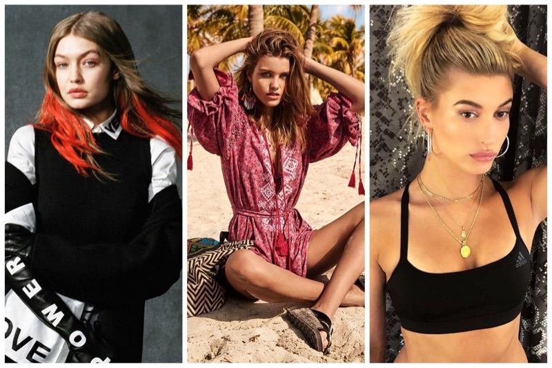 Week in Review   Hailey Baldwin for Maxim, Topshop's Summer Styles, Gigi Hadid Poses for Versace  + More