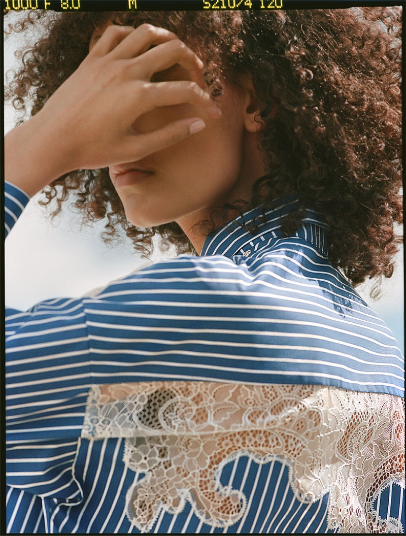 Zara Contrasting Shirt Dress