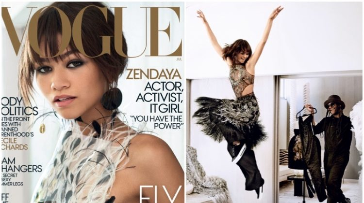 Zendaya Nabs Her First Vogue Cover - See the Images!