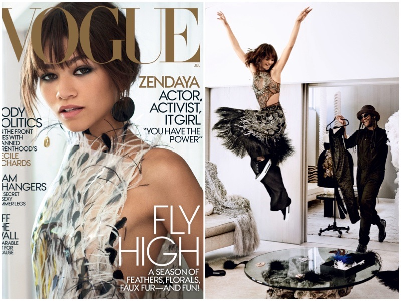 Zendaya Nabs Her First Vogue Cover – See the Images!