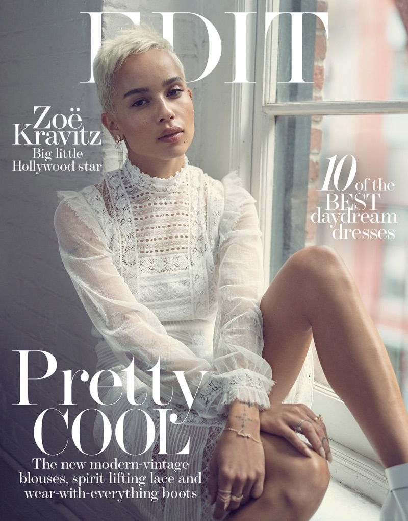 Zoe Kravitz on The Edit June 15th, 2017 Cover