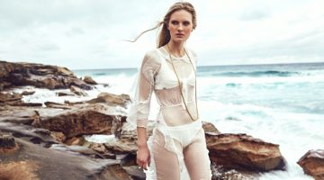 Exclusive: Zoe Von Gerlach by Jeremy Choh in 'Beach Dreaming'