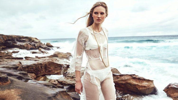 Exclusive: Zoe Von Gerlach by Jeremy Choh in 'Beach Dreaming'