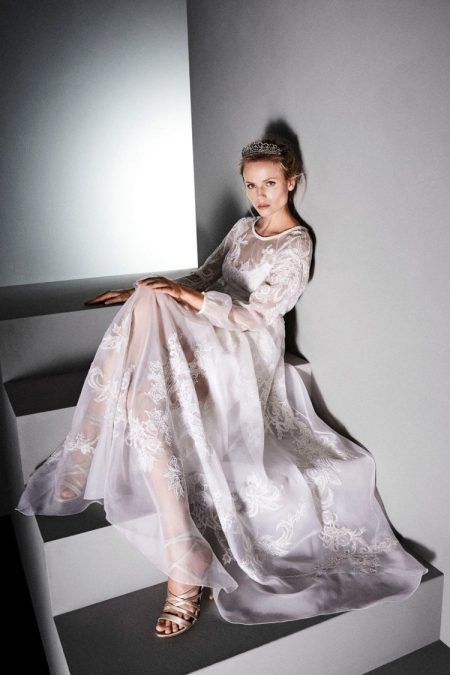 Natasha Poly is a Vision in Alberta Ferretti's Limited Edition Dresses