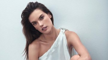 Alessandra Ambrosio Models Effortless Styles for Harper's Bazaar Greece