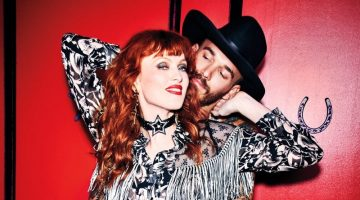 Karen Elson Goes West for Anna Sui x Macy's Campaign