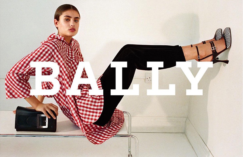 Taylor Hill stars in Bally's fall-winter 2017 campaign
