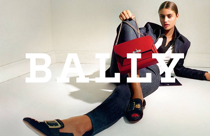 Taylor Hill suits up in Bally's fall-winter 2017 campaign