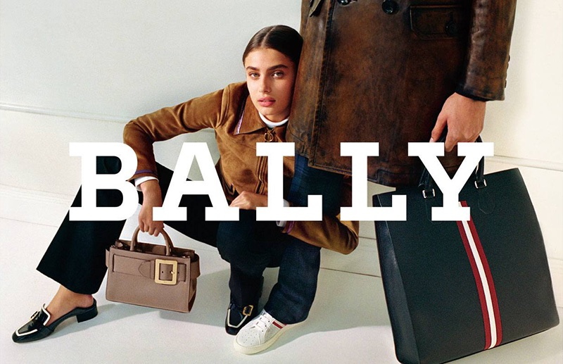 An image from Bally's fall 2017 advertising campaign