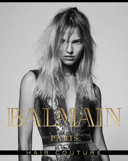 Balmain Hair Couture Turns Up the Glam Factor for Fall 2017 Campaign