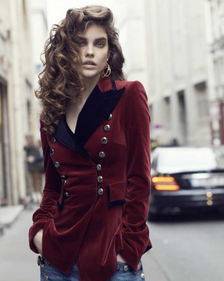 Barbara Palvin Channels 1980's Style for ELLE Russia