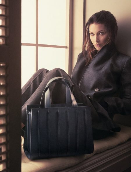 Bella Hadid Looks Ultra Luxe in Max Mara's Fall 2017 Accessories Ads