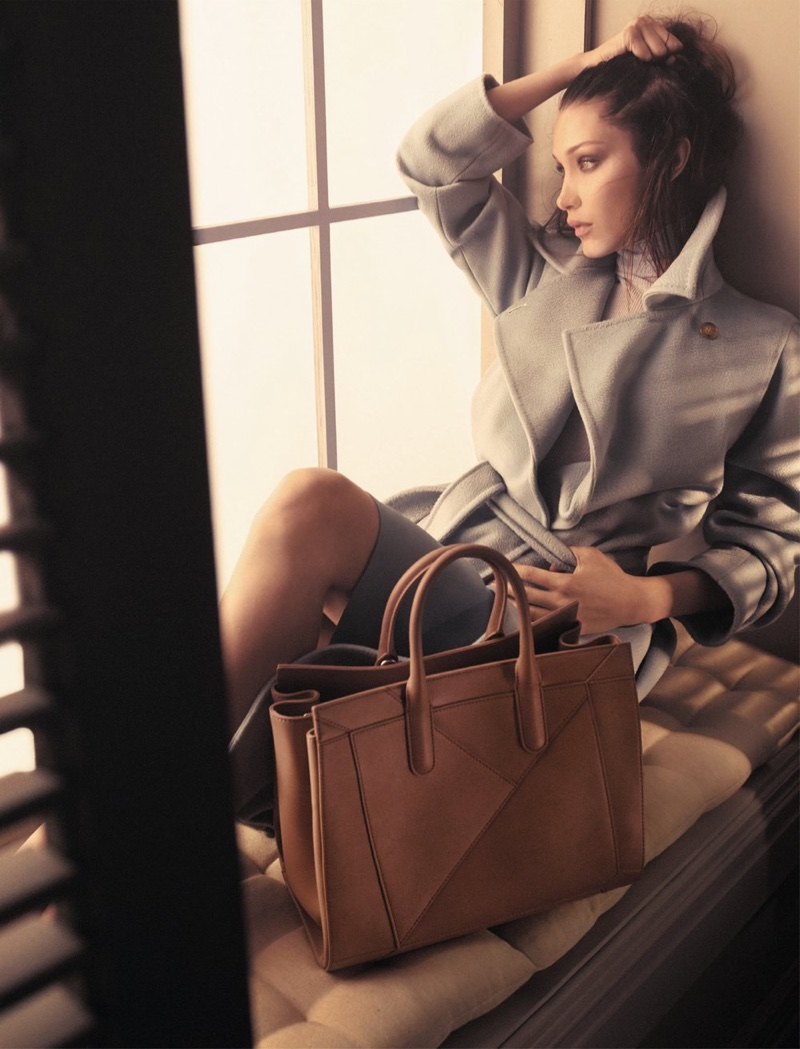 Max Mara taps model Bella Hadid for its fall-winter 2017 Accessories campaign
