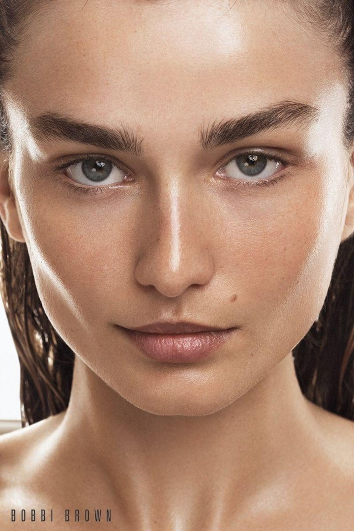 Andreea Diaconu stars in Bobbi Brown Cosmetics' fall 2017 campaign