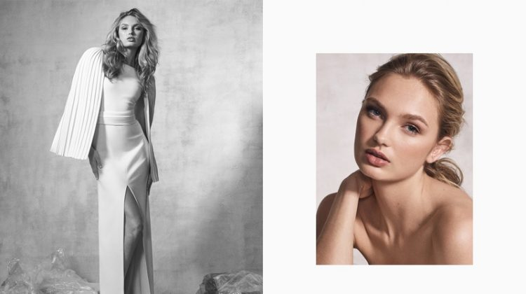 Romee Strijd fronts Brandon Maxwell's fall-winter 2017 campaign