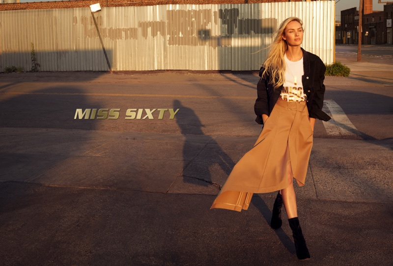 Terry Richardson photographs Miss Sixty's fall-winter 2017 campaign starring Candice Swanepoel