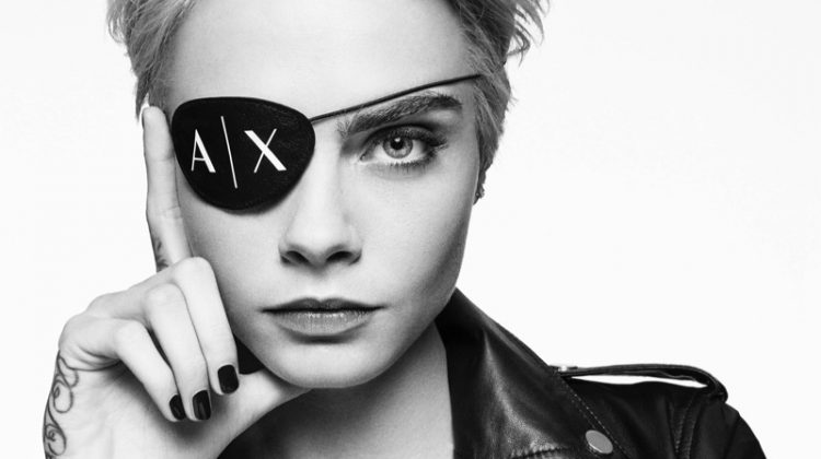 Cara Delevingne stars in A|X Armani Exchange's fall-winter 2017 campaign