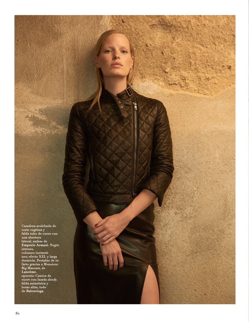 Caroline Winberg Wears Pre-Fall Styles for Marie Claire Spain
