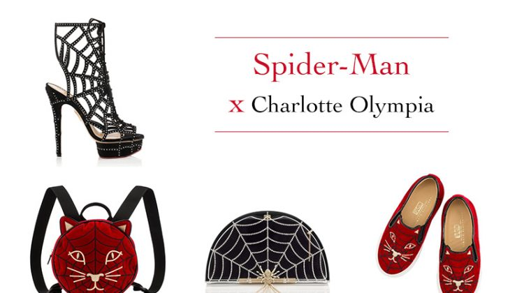 Charlotte Olympia x Spider-Man collaboration