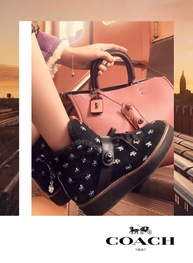 A look at Coach's fall-winter 2017 shoes and bag campaign