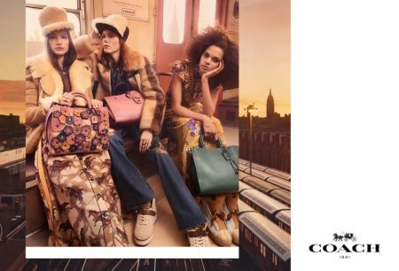 Coach Goes for a Chic Subway Ride with Fall 2017 Campaign