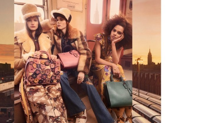 Coach unveils its fall-winter 2017 campaign