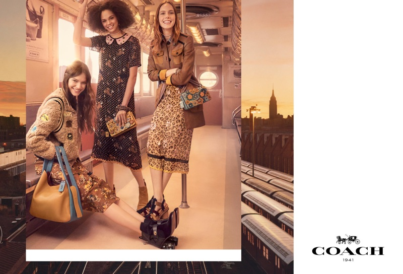 An image from Coach's fall 2017 advertising campaign