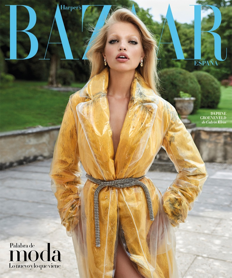 Daphne Groeneveld Models the Fall Collections for Harper's Bazaar Spain
