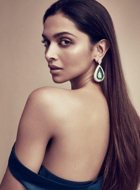 Deepika Padukone wears a drop earring