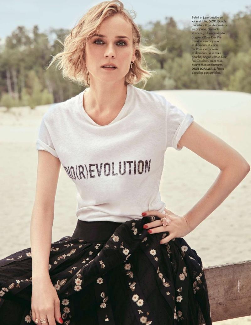 Diane Kruger Shoot For Elle