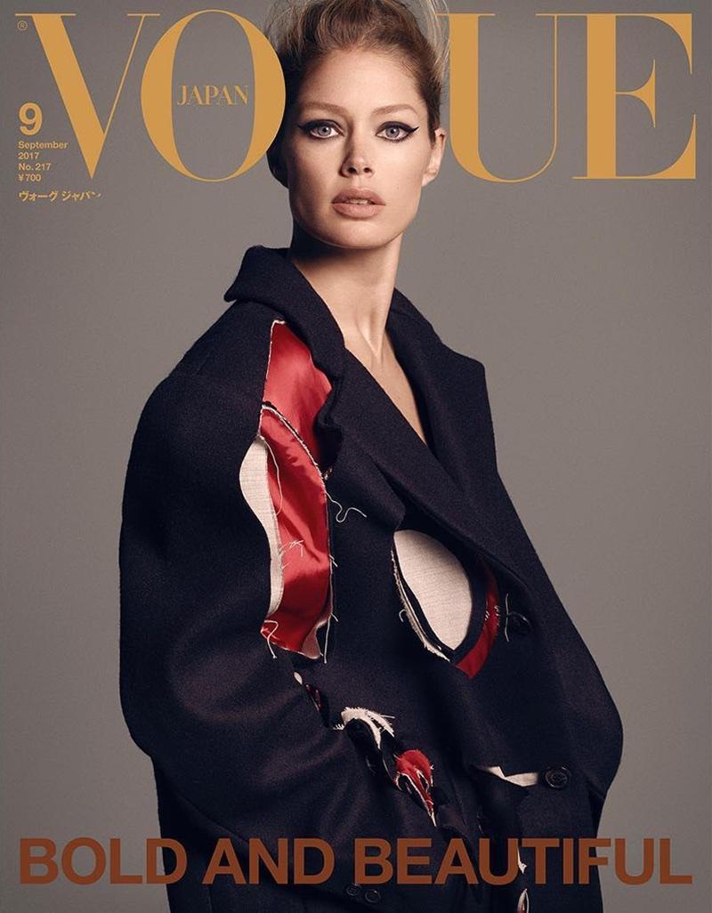Doutzen Kroes on Vogue Japan September 2017 Cover