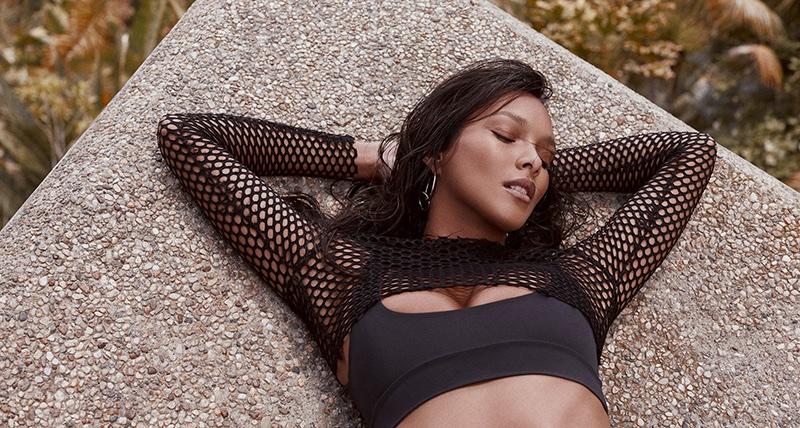 Lais Ribeiro stars in Fae Swimwear's spring-summer 2017 campaign