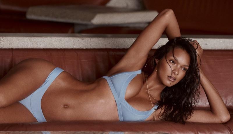 Lais Ribeiro flaunts her bikini figure for Fae Swimwear