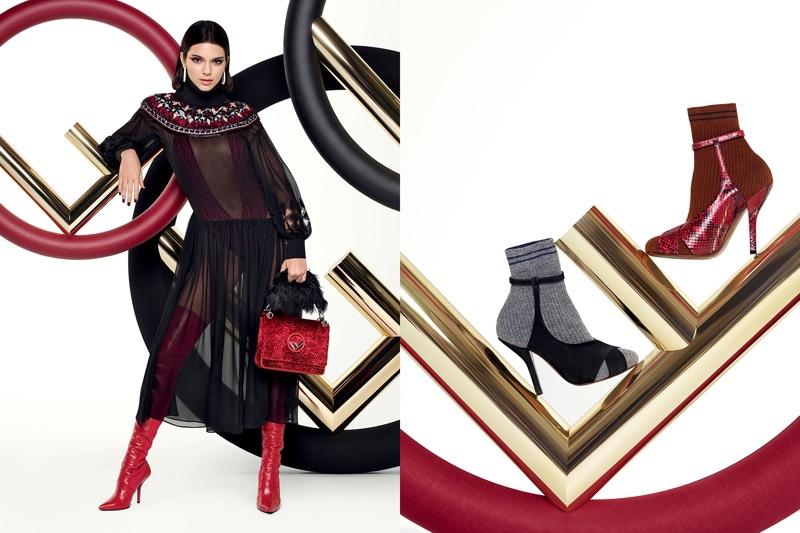 Boots take the spotlight in Fendi's fall-winter 2017 campaign