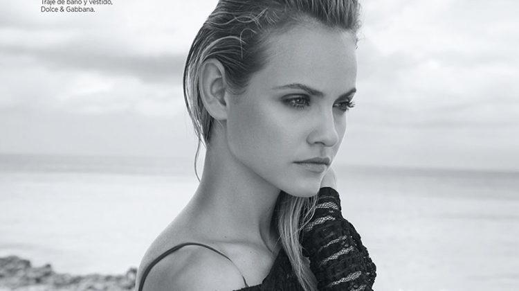 Ginta Lapina Poses in Sultry Beach Styles for Harper's Bazaar Mexico