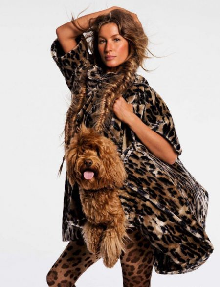 Gisele Bundchen Looks Ultra-Glam in Faux Fur for Vogue Paris