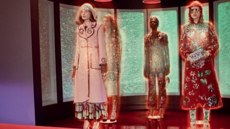 Gucci Gets 'Star Trek' Chic for Fall 2017 Campaign