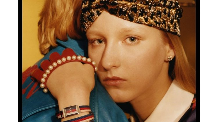 An image from Gucci's latest jewelry campaign