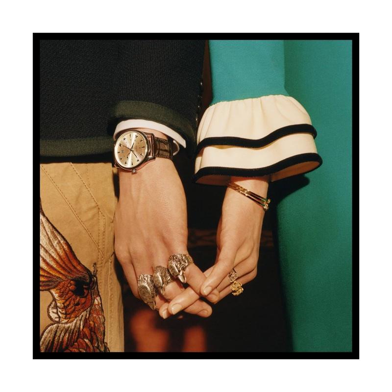 Colin Dodgson photographs Gucci Timepieces spring-summer 2017 campaign