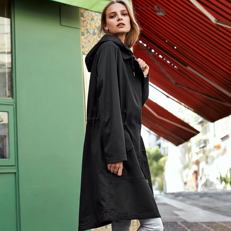 H&M Lyocell-Blend Parka and Ankle-Length Slim-Fit Pants