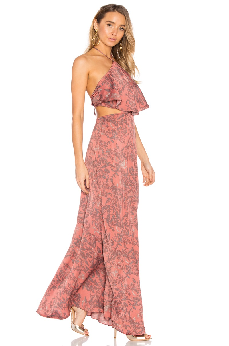 House Harlow 1960 REVOLVE x Zoe Halter Dress $208