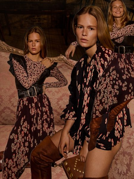 Anna Ewers Has Us Seeing Double in Isabel Marant's Fall 2017 Campaign