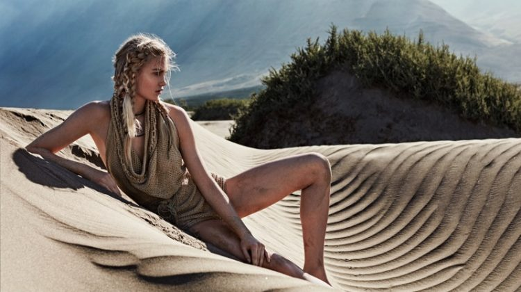 Isabel Scholten stars in Glamour Italy's July issue