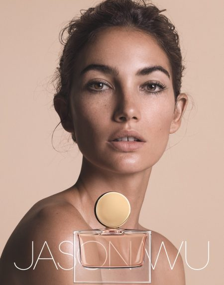Lily Aldridge Fronts Jason Wu's Debut Fragrance Campaign