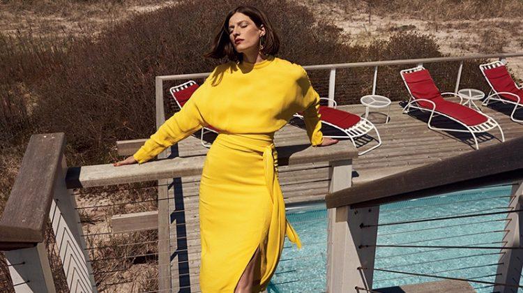 Jennae Quisenberry Models Vibrant Styles in Harper's Bazaar Kazakhstan