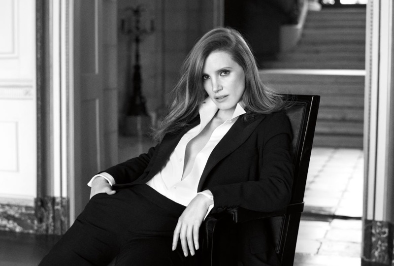 Actress Jessica Chastain fronts Ralph Lauren 'Woman' fragrance campaign