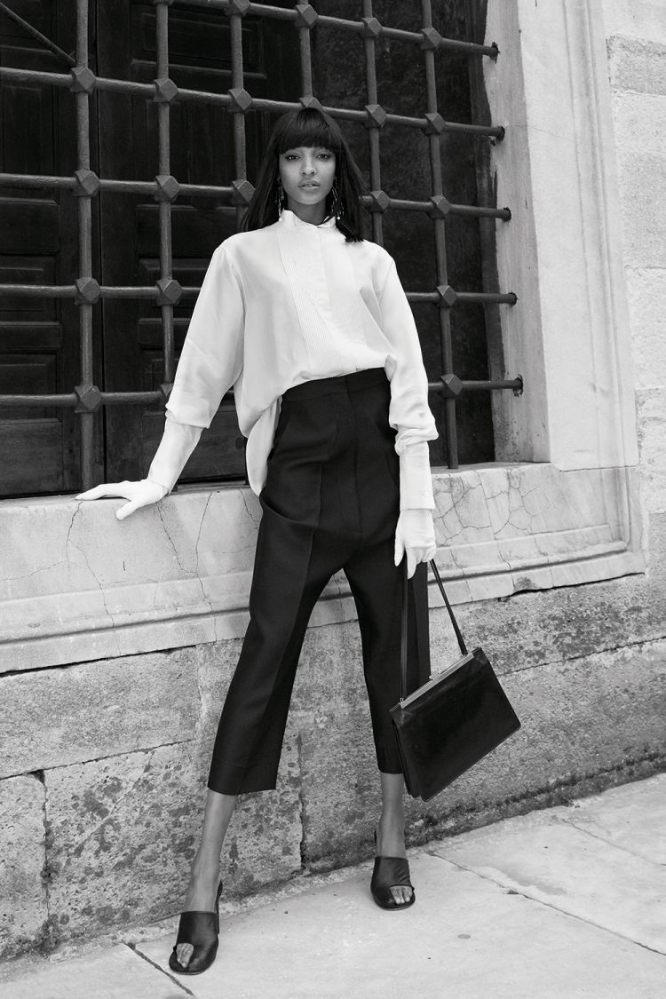 Jourdan Dunn Poses in Luxe Fall Fashions for Vogue Arabia