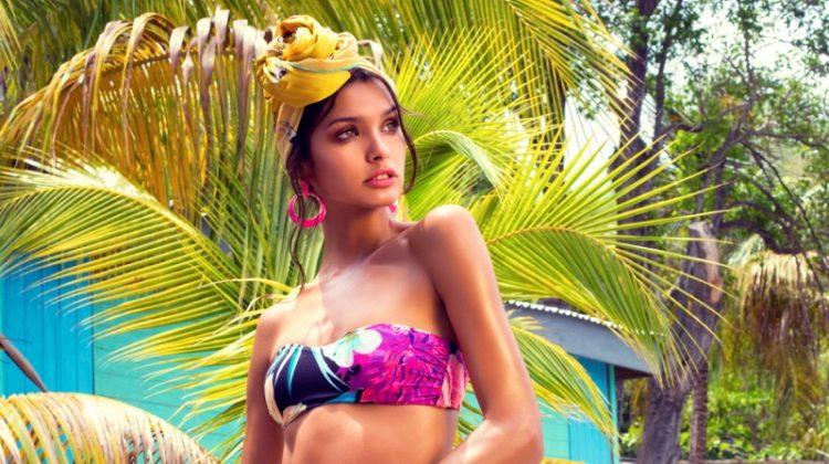 Livia Rangel is a Tropical Beauty in ELLE Kazakhstan
