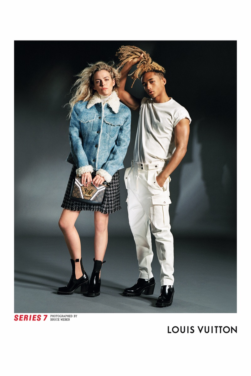 Riley Keough and Jaden Smith star in Louis Vuitton's fall-winter 2017 campaign